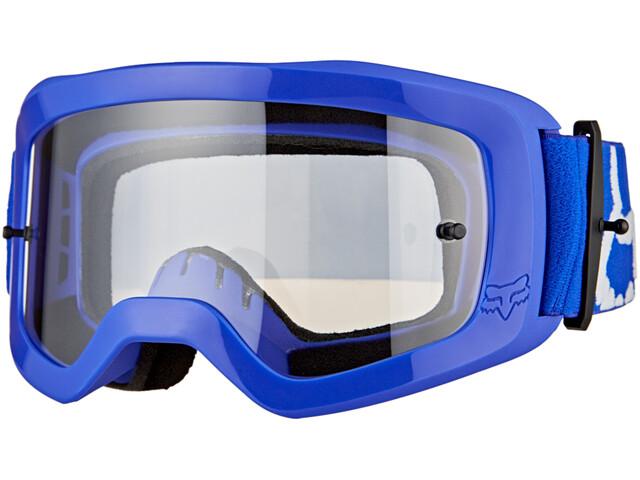 Fox Main II Race Goggles Youth blue